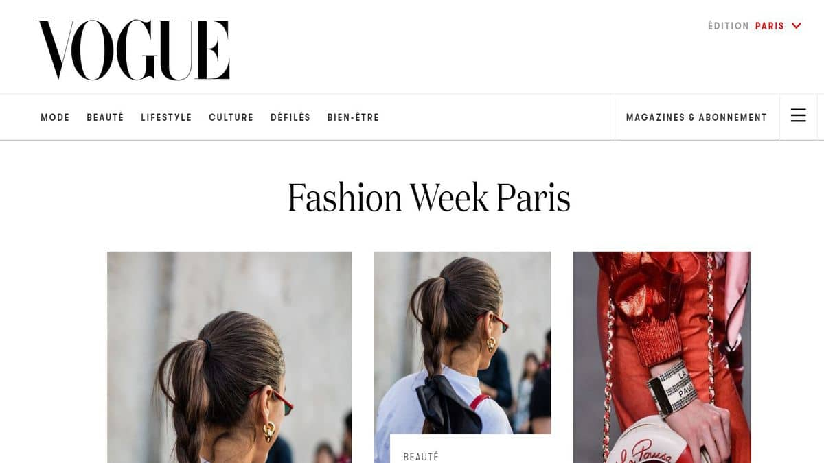 Wagram Protection-Fashion Week Vogue